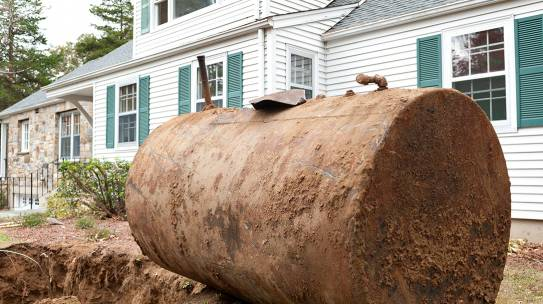 Why a Buried Oil Tank Could Be a Hazard to Homeowners